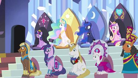 Watch Equestria Games. Episode 24 of Season 4.