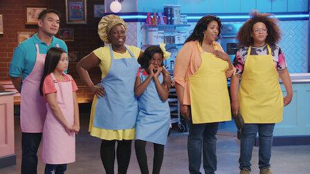 Watch The Big Bake Theory. Episode 7 of Season 4.