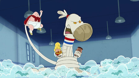 Watch Captain Underpants and the Strange Strife of the Smelly Socktopus. Episode 9 of Season 1.