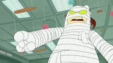 Watch Captain Underpants and the Terrifying Perilous Misfortune of the T.P. Mummy. Episode 5 of Season 1.